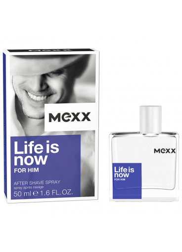 Mexx Life is Now For Him woda toaletowa 50 ml
